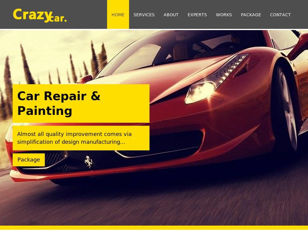Crazy Car Repair