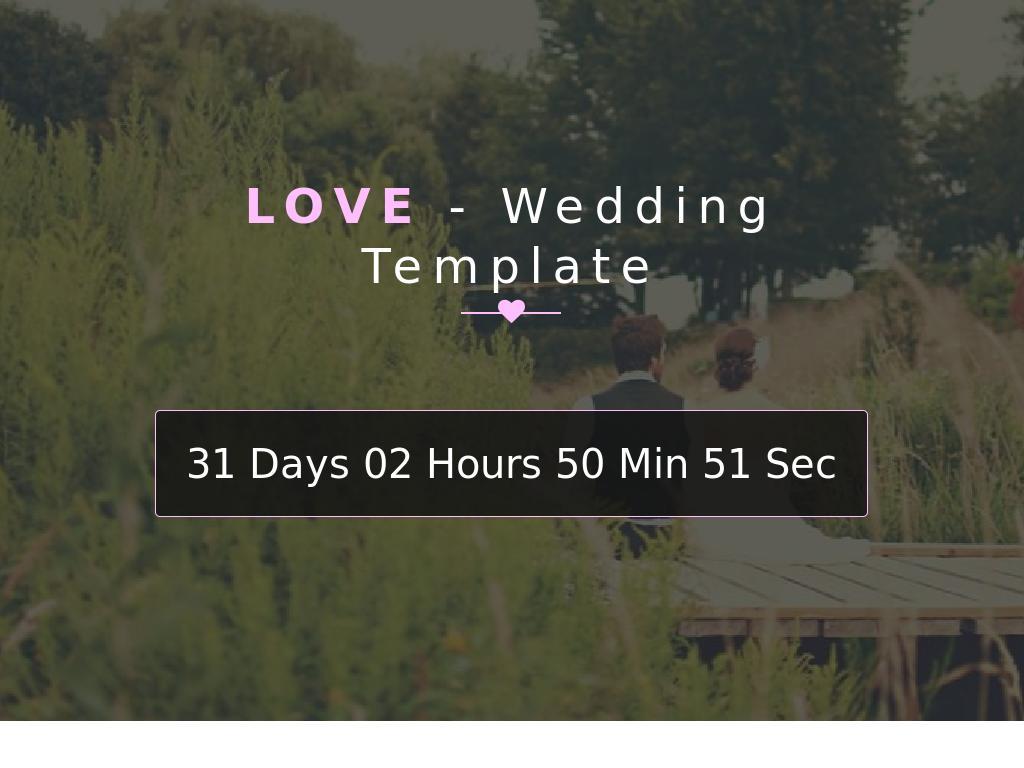 Love – Wedding