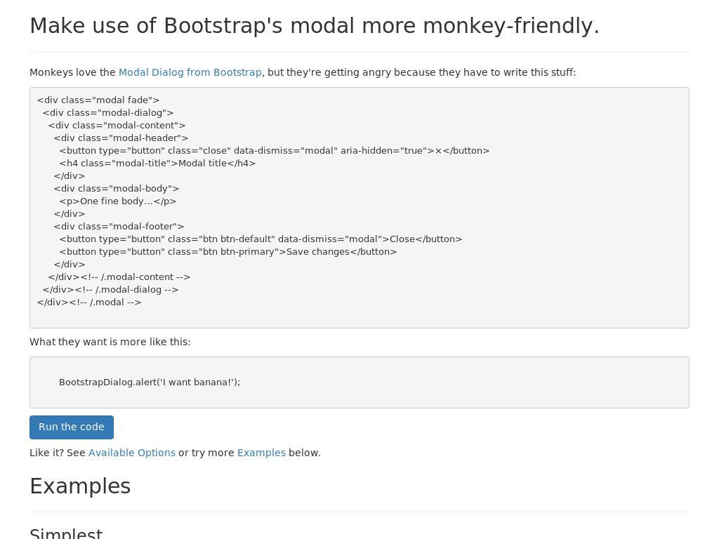 Bootstrap Dialog