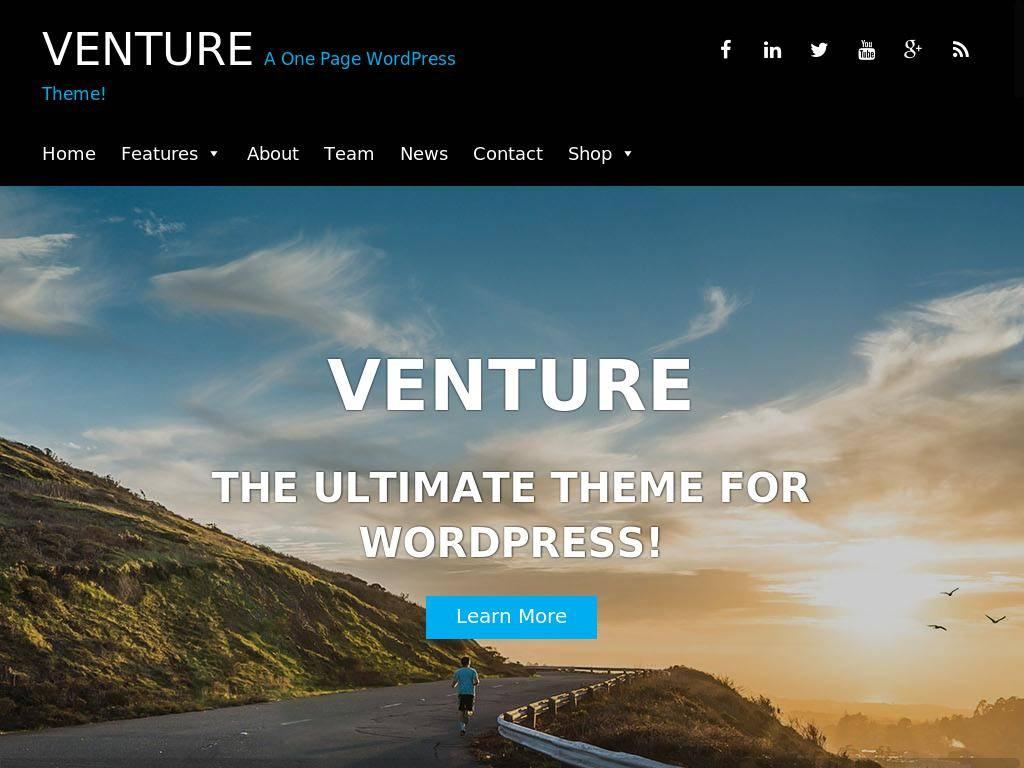 Venture Lite - WordPress