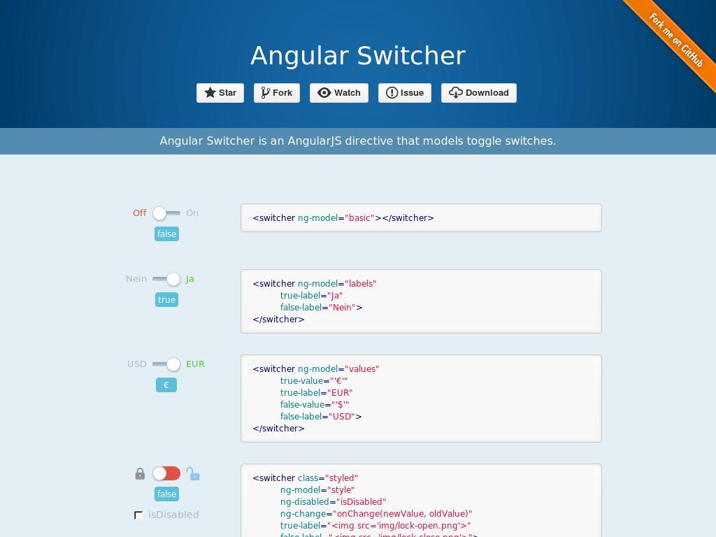 Angular Switcher