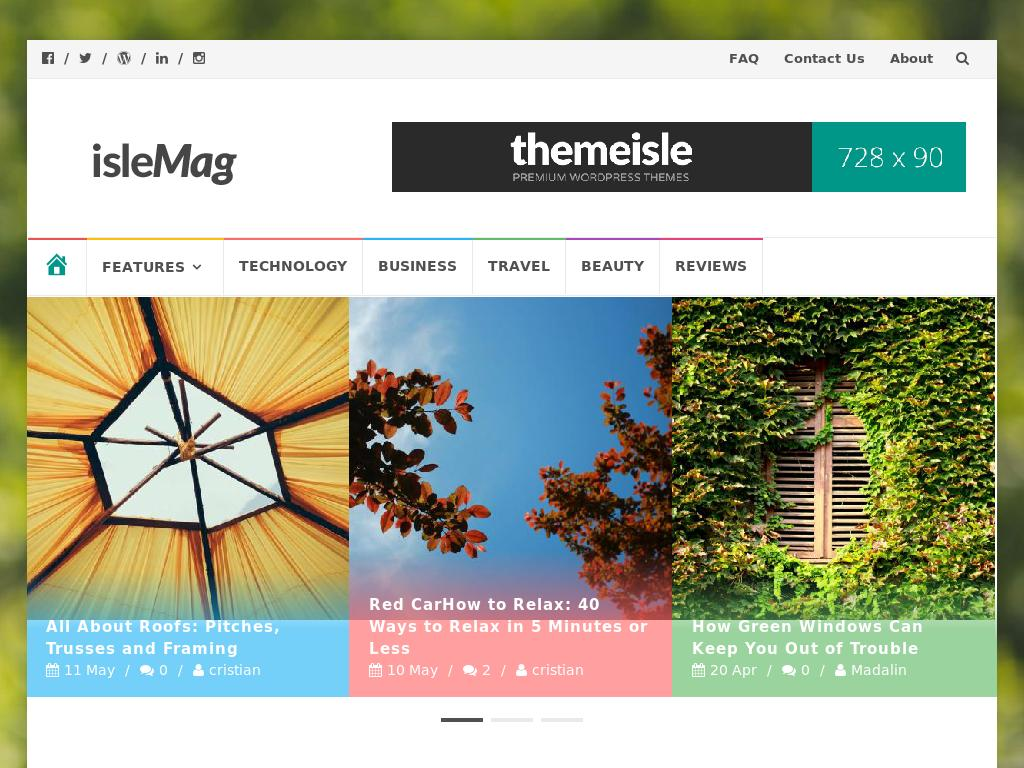 IsleMag - WordPress
