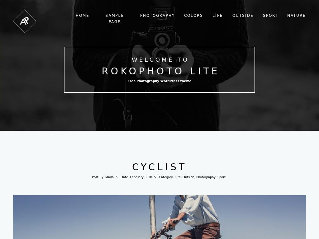 RokoPhoto Lite - WordPress