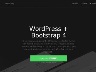 UnderStrap - WordPress