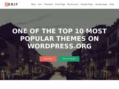 Zerif Lite - WordPress