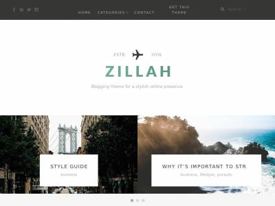Zillah - WordPress