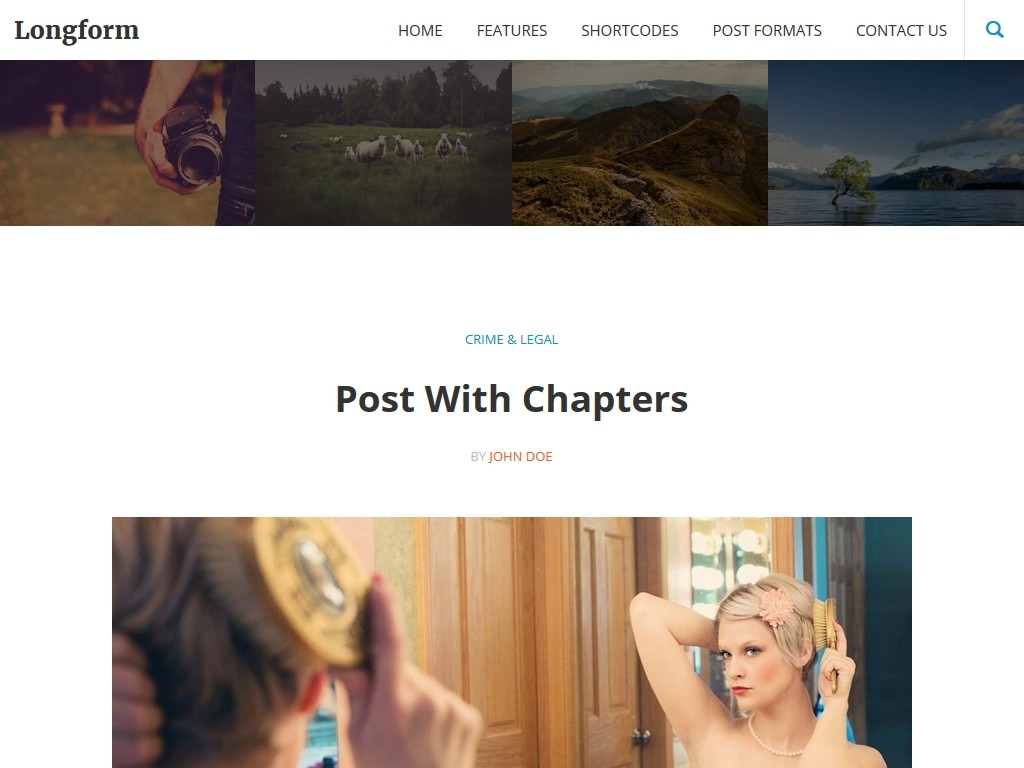 Longform - WordPress