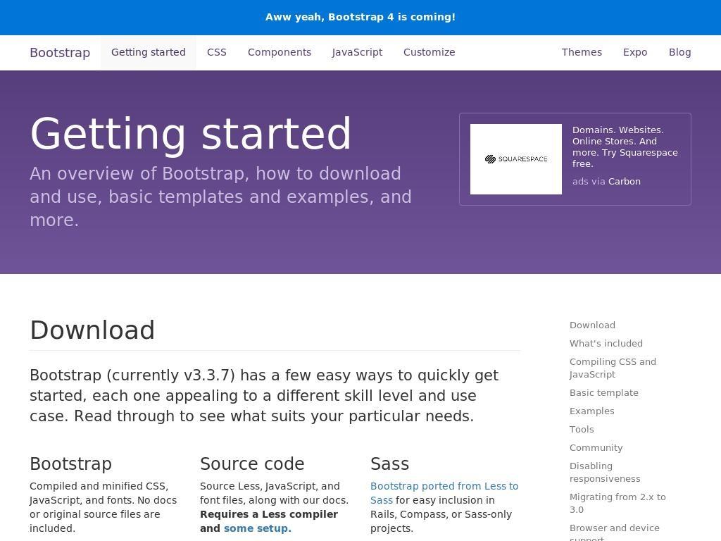 Bootstrap 3.3.7 CDN