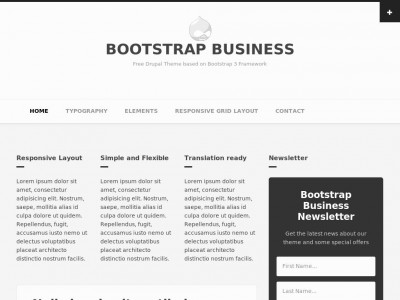 Bootstrap Business - Drupal