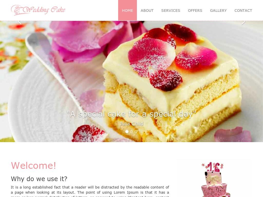 Wedding Cake - Портфолио