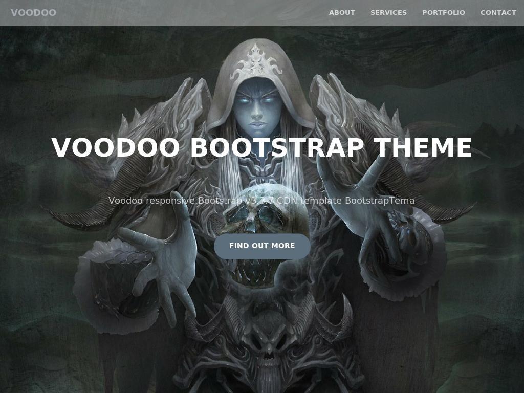 Voodoo - Лендинг