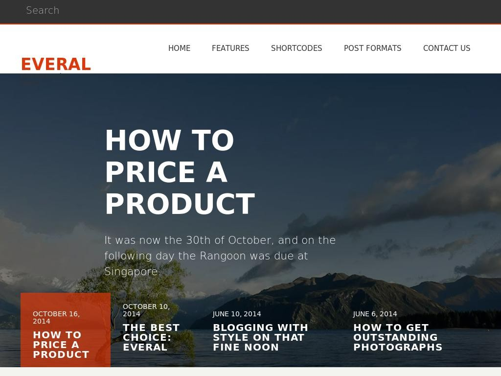 Everal - WordPress