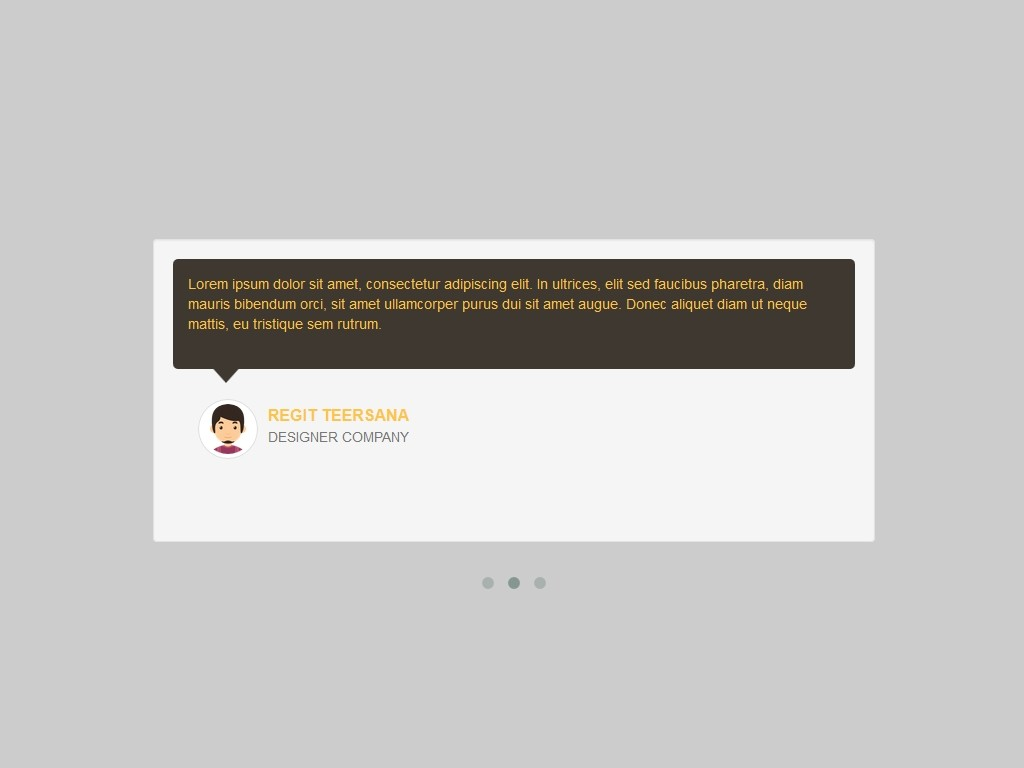 Owl Slider Carousel Comments Bootstrap 3