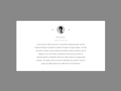 Bootstrap Owl Carousel Slider Testimonial