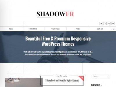 Shadower - WordPress
