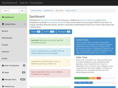 Dashboard Template