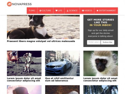 Novapress - WordPress