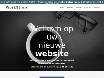 WorkStrap - WordPress