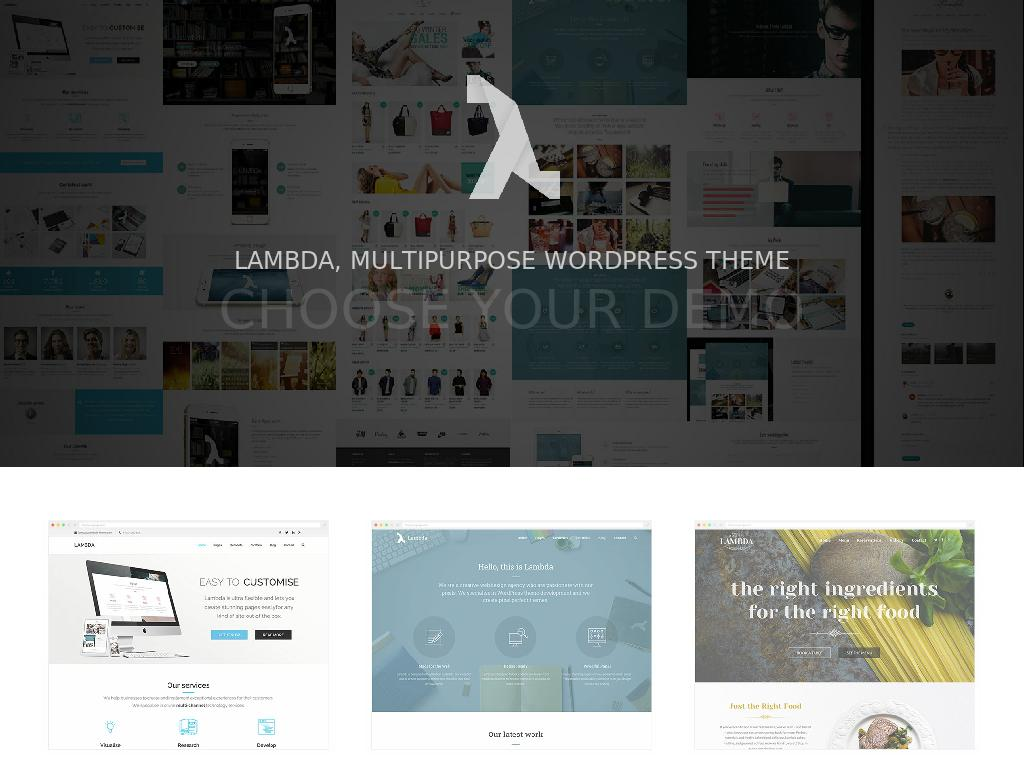 Lambda - WordPress