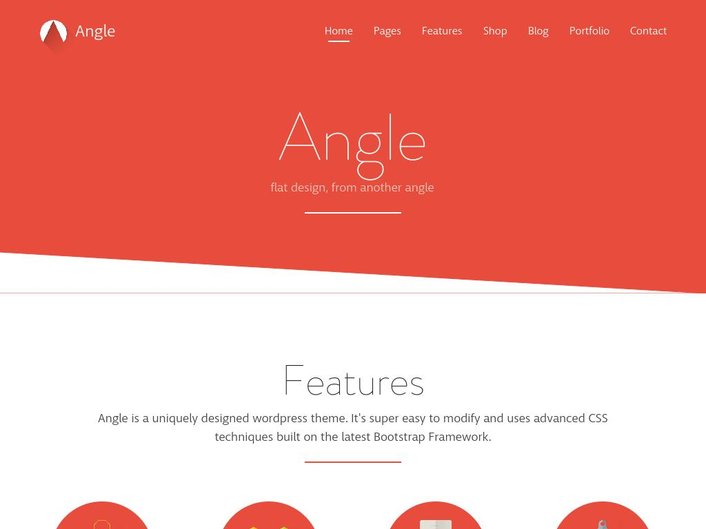 Angle - WordPress - Премиум
