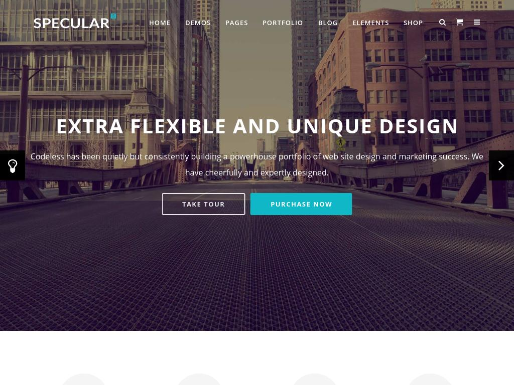 Specular - WordPress - Премиум