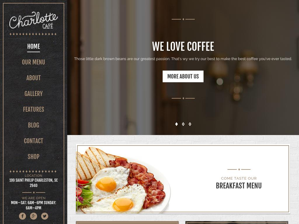 Charlotte - WordPress - Премиум