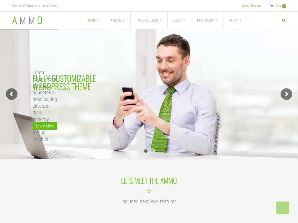 Ammo - WordPress - Премиум