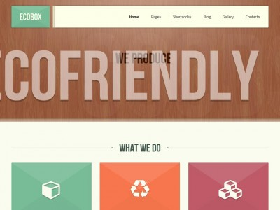 Ecobox - WordPress