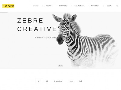 Zebre - WordPress