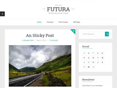 Futura - WordPress
