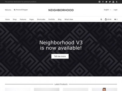 Neighborhood - WordPress
