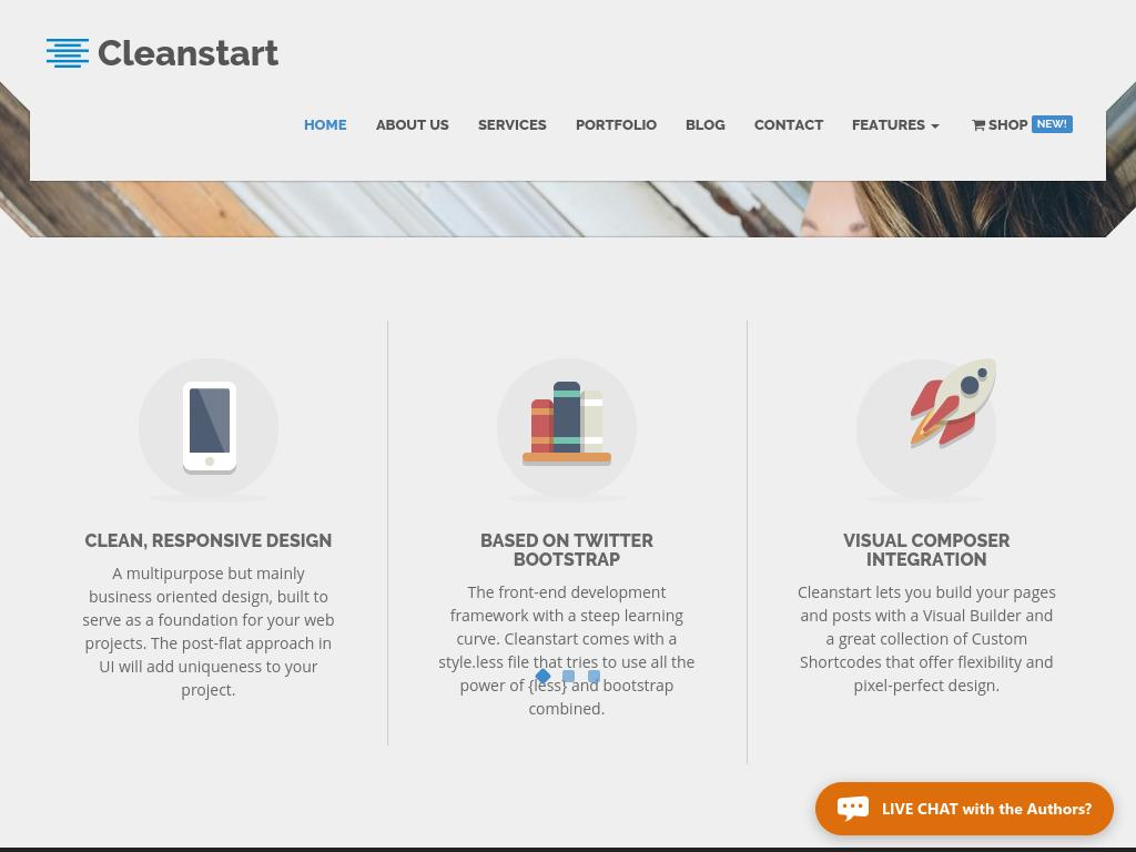 CLEANSTART Business - WordPress - Премиум