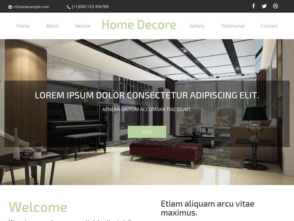 Interior Architects responsive HTML one page template, Bootstrap 3 layout, plugins: lightbox, easing, flexisel, responsiveslides, download free.