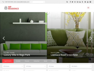 WP Residence - WordPress