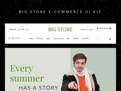 Big Store UI Kit