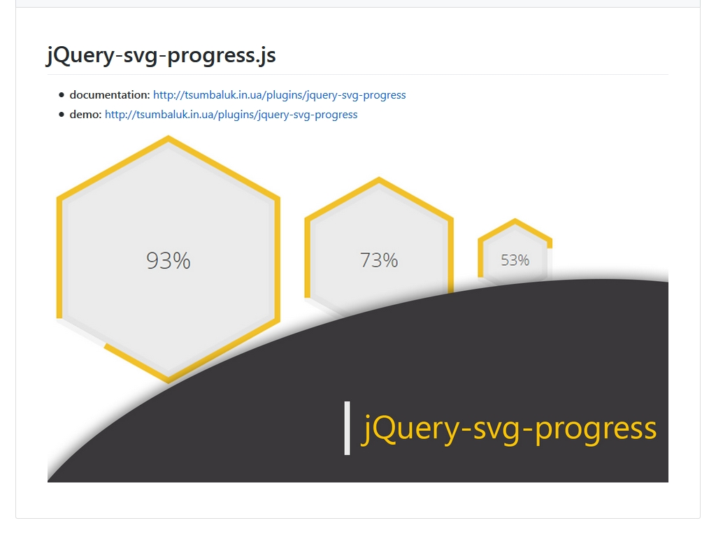 jQuery Svg Progress - Дизайн