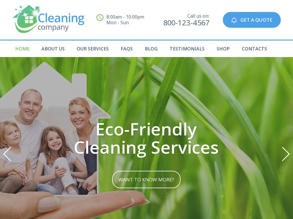 House Cleaning Services - Премиум