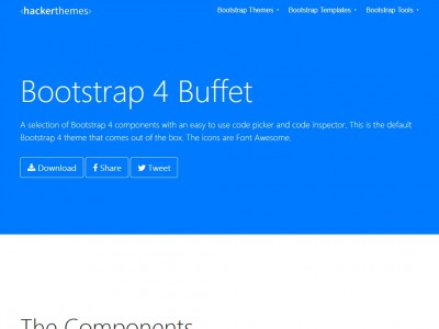 Bootstrap 4 Theme Machine