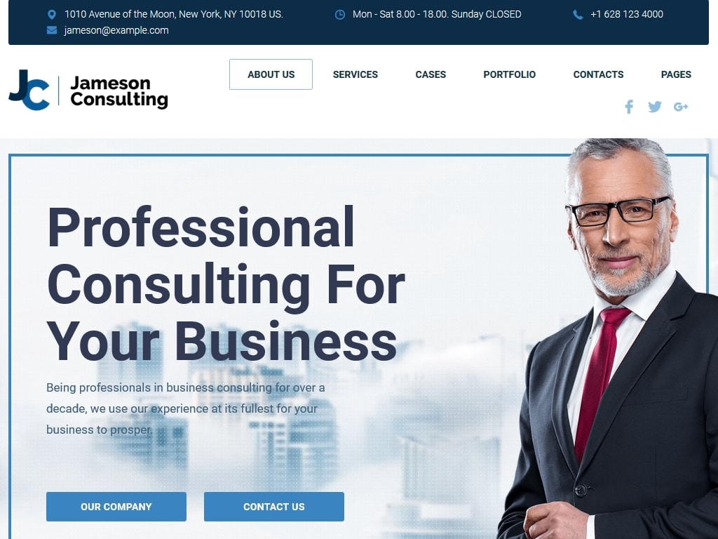 Business & Consulting - Портфолио