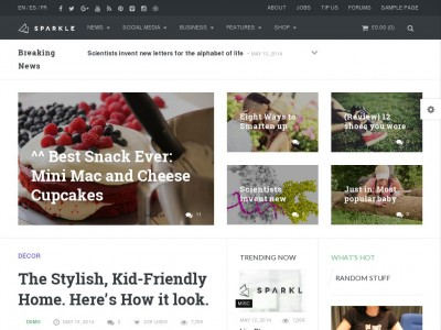 Sparkle - WordPress