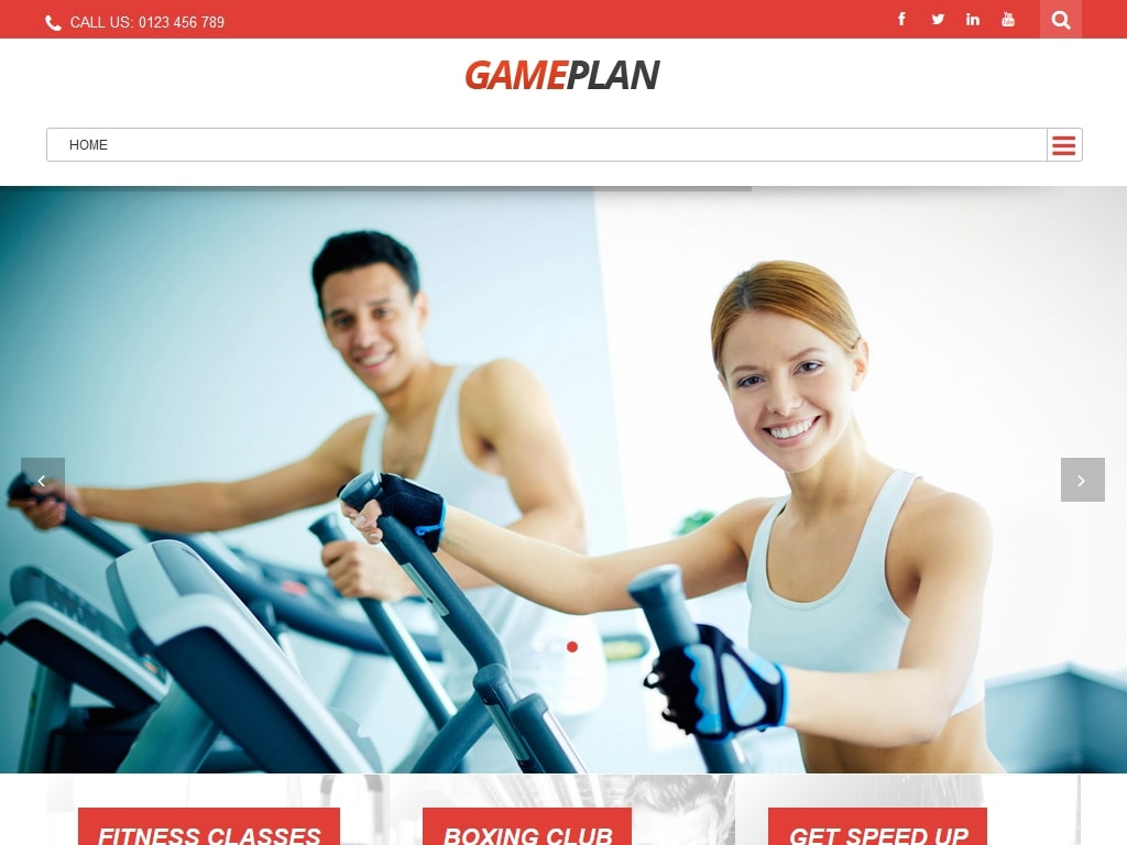 Gameplan - WordPress - Премиум