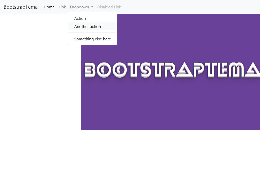 Open Bootstrap 4 dropdown on hover - Меню