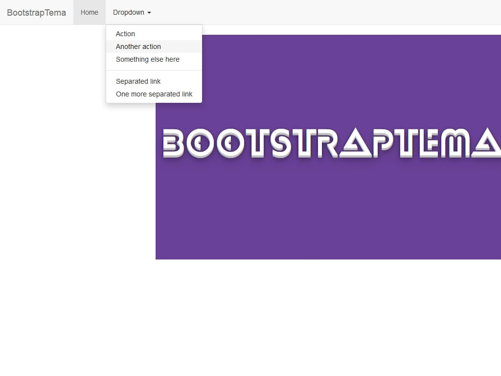 Open Bootstrap 3 dropdown on hover - Меню