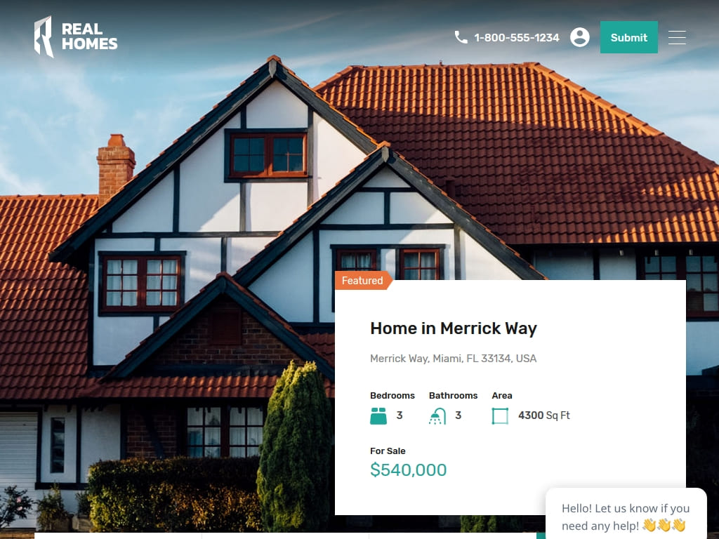 Real Homes - WordPress - Премиум