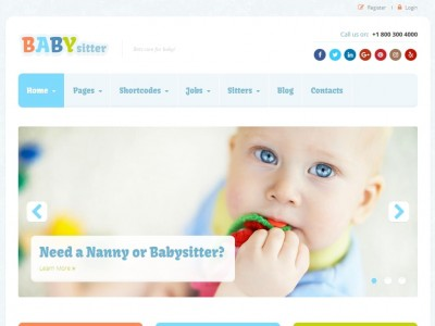 Babysitter - WordPress