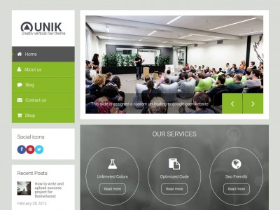 Unik - WordPress