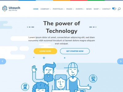 Utouch - WordPress