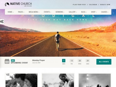 NativeChurch - WordPress