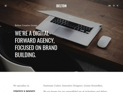 Belton - WordPress