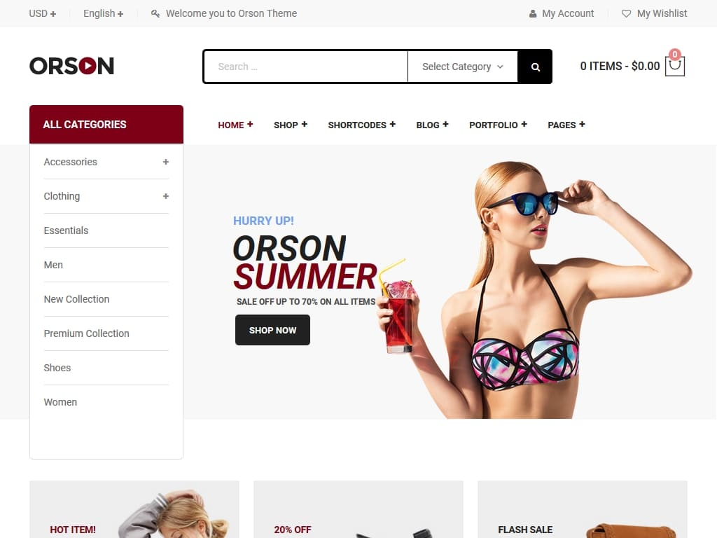 Orson - WordPress - Премиум